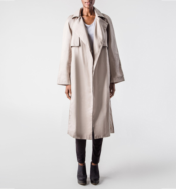 Kowtow Trench Coat Sand