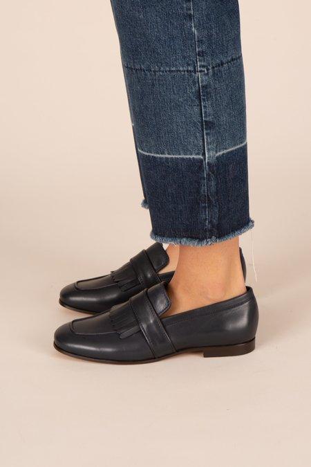 Soeur Encre Loafers - Navy
