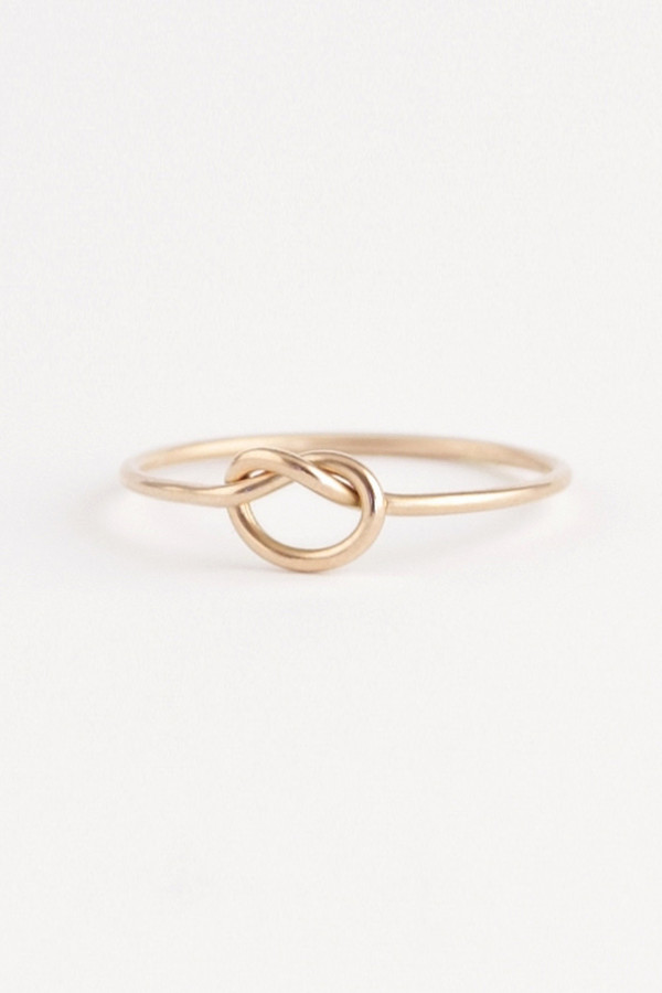 Emi Grannis Knot Ring 14k Yellow Gold