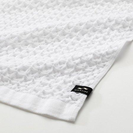 Slowtide Guild Waffle Four Piece Bundle Towel - White