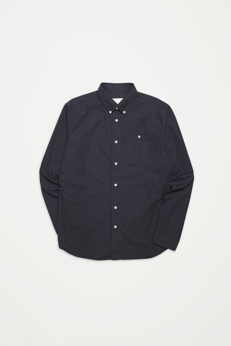 A Kind Of Guise Permanents Button Down Shirt - Washed Navy