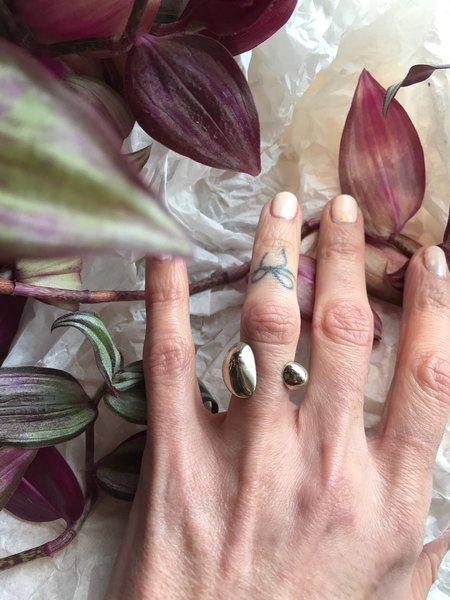 Quarry Adron Ring - White Bronze