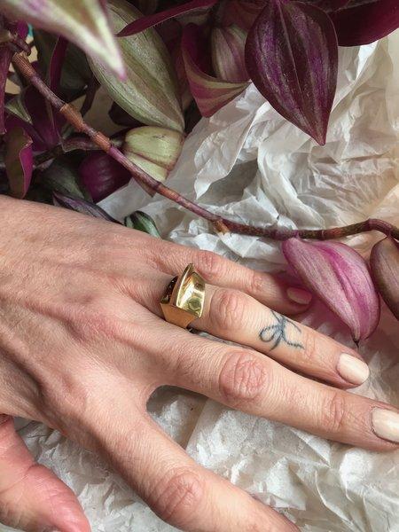 Quarry Wall Ring - Brass