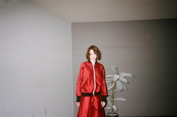 Alexa Stark Red Silk Bomber PRE-ORDER ONLY