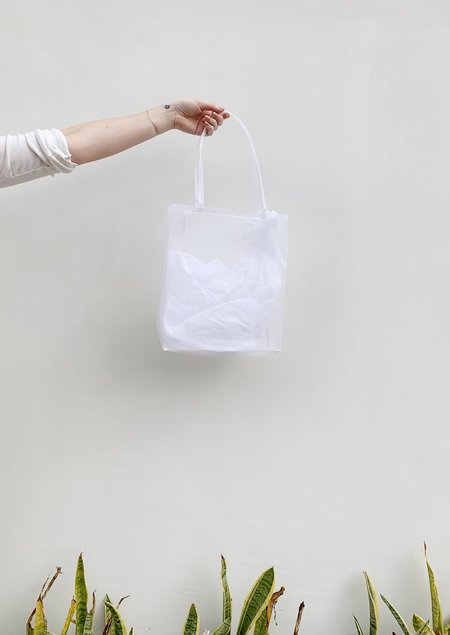 Walker Bags Open Tote - White