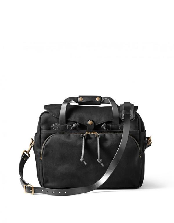 Filson Padded Computer Bag Black