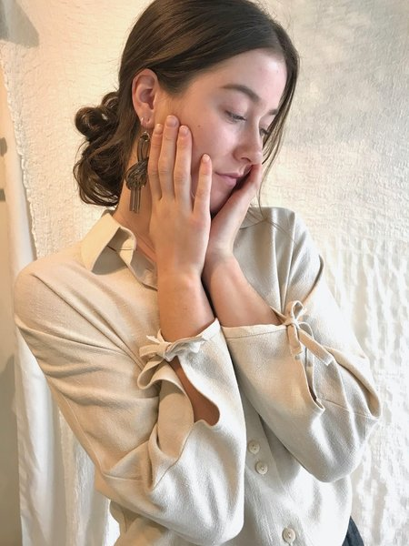 Vestige Story Rasa Blouse - Cream
