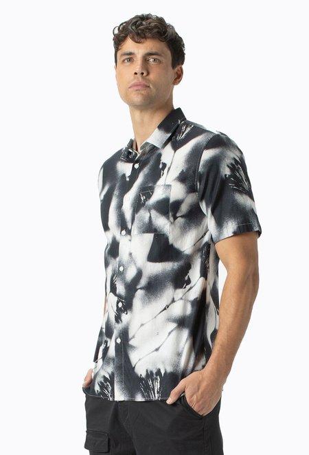 Zanerobe Mist Short Sleeve Shirt - Black