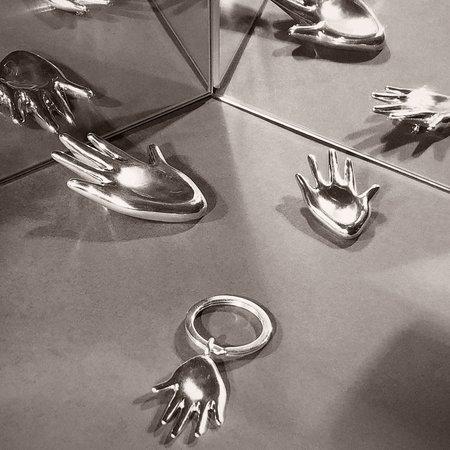 AGMES Dalí Key Chain - Silver