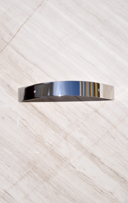 Sylvain Le Hen Curved Ponytail Barrette - Silver