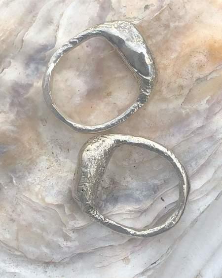 Lane Walkup fish ring - silver