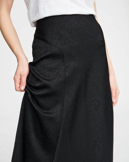 Rag & Bone Letti Skirt - Black