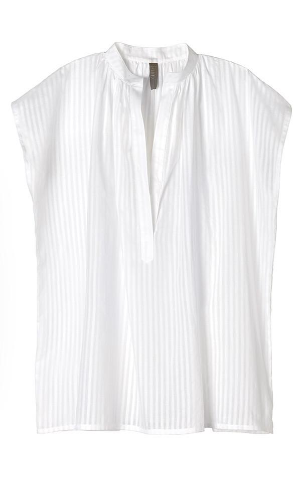 Two New York Khadi Shirt white