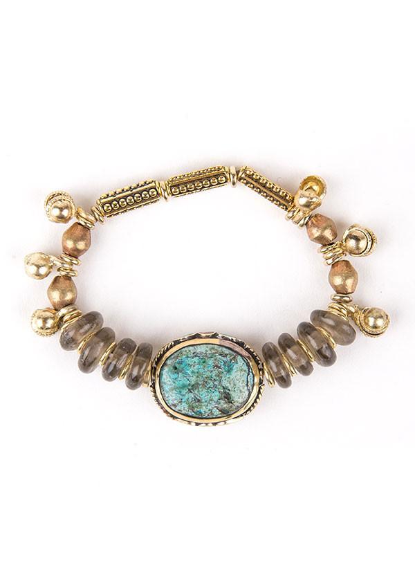 Vanessa Mooney - The Ocean Sky Bracelet in Gold