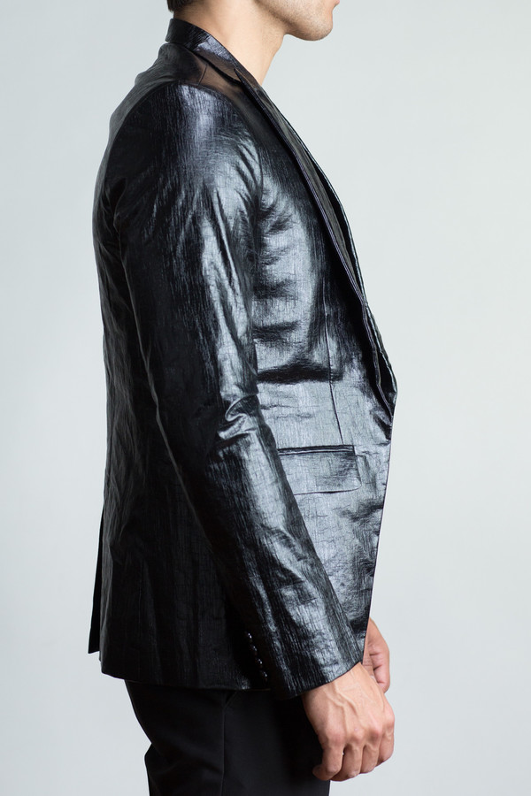 Men's Any Old Iron Faux Leather Jacket