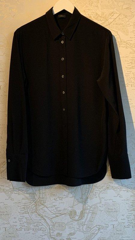 Joseph Silk Shirt - Black
