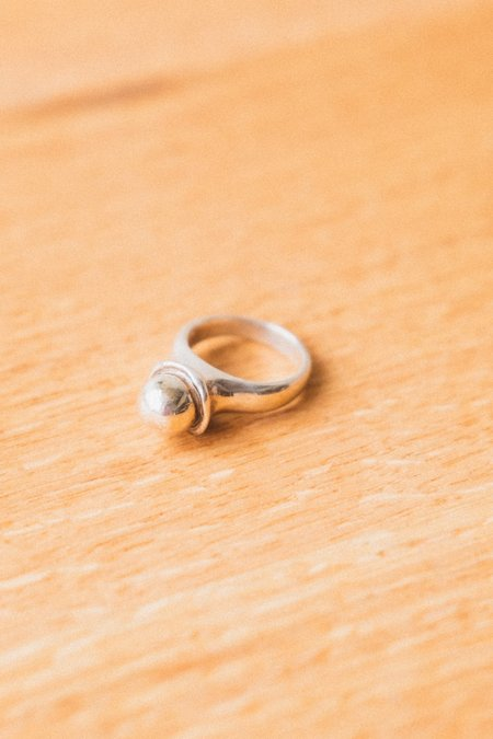 Another Feather SEA BUBBLE RING - Silver