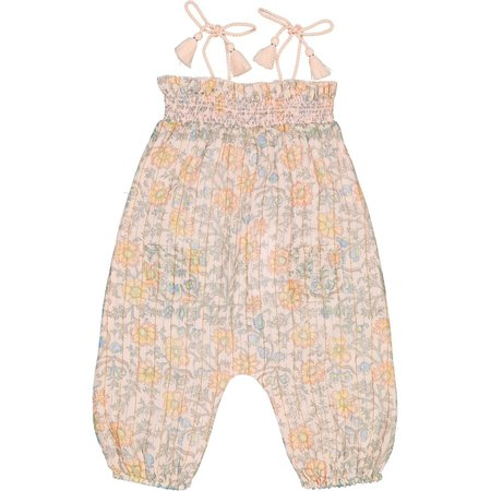 kids louis louise baby overall - cassis light pink