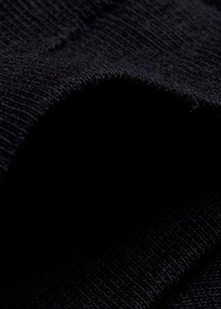 MERZ B. SCHWANEN 1920's T shirt - deep black