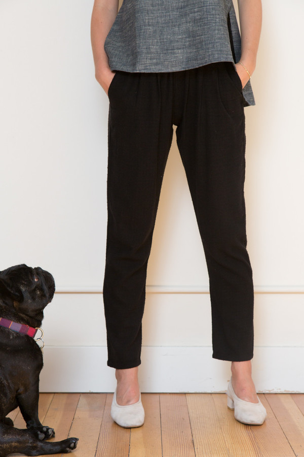Ozma Pleated Drape Pants