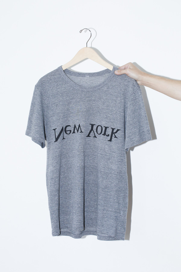 Unisex Assembly New York Cotton New York Logo T-Shirt