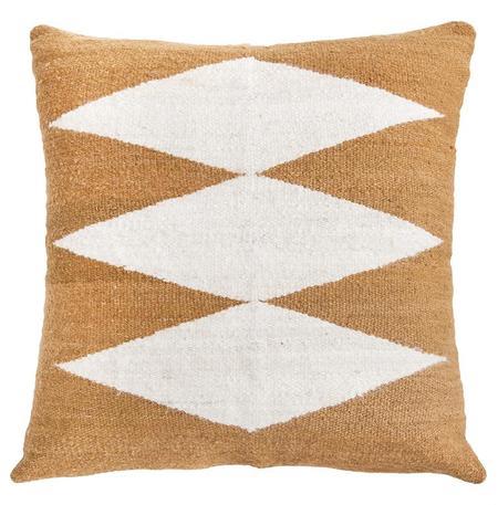 Pampa Puna #2 Floor Cushion - Camel/Natural
