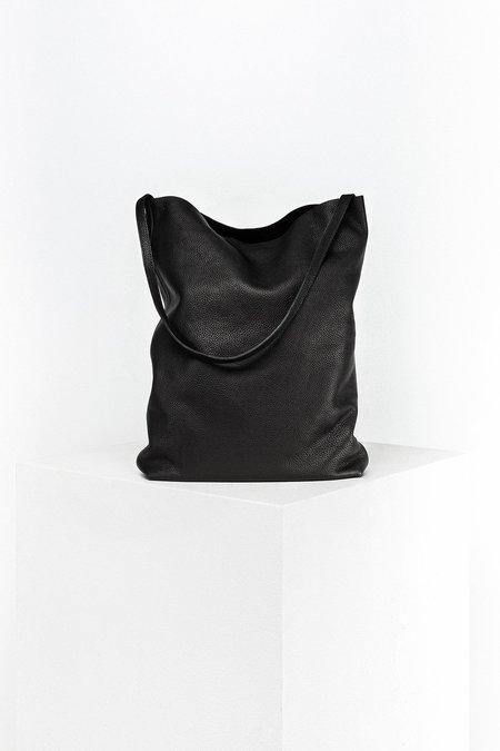 Disselhoff Organic Cow Leather Hobo - Black