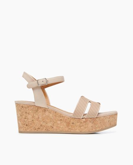 Coclico Midwood Sandal in Talco Bone