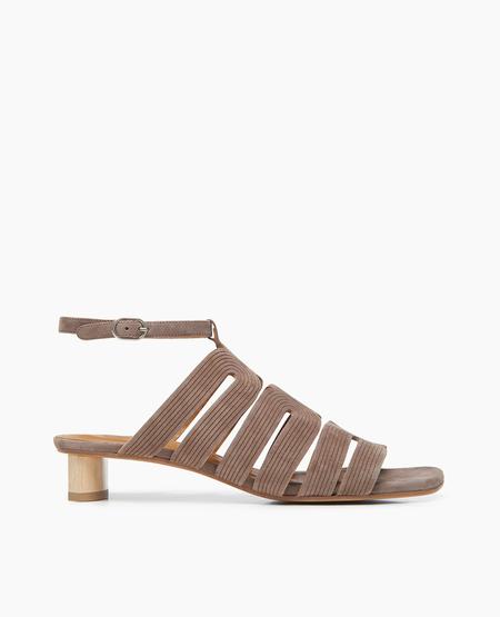 Coclico Seigel Sandal in Ante Smoke Laser