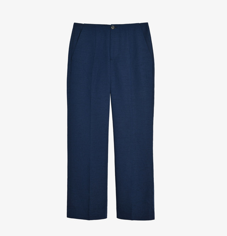 soeur Front Dart Trousers - Navy