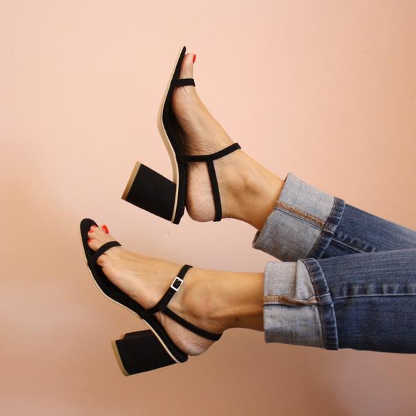 Rafa Simple sandal - black