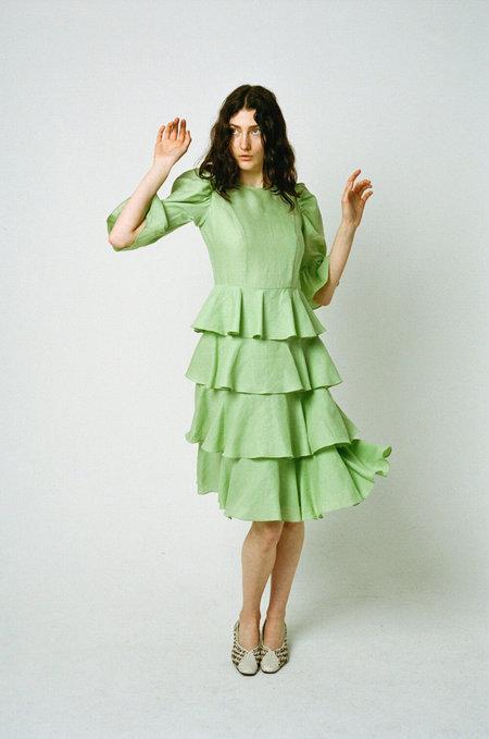 BATSHEVA Spring Layer Dress - Mint