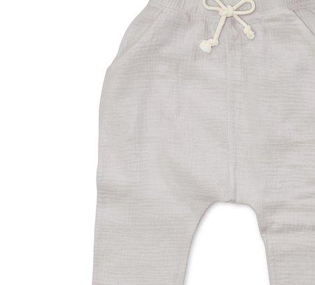 Kids Bacabuche Gauze Slouchy Pant - Grey