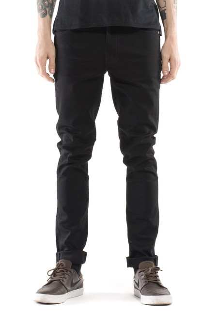 Men's Nudie Jeans Lean Dean | Dry Cold Black