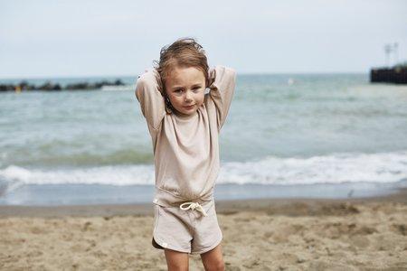 Kids Bacabuche Terry Fleece Pullover - Fawn