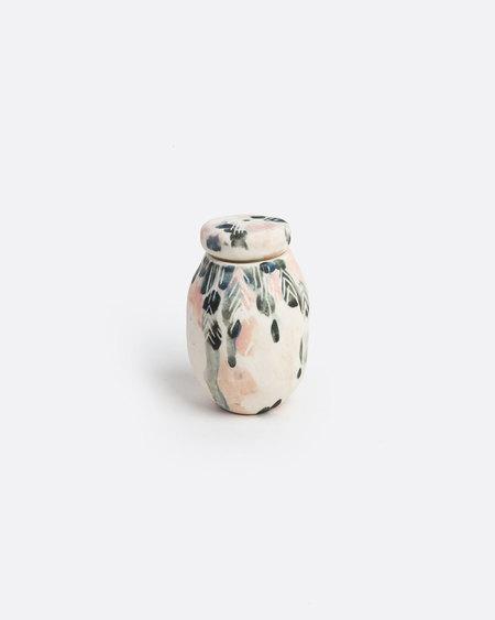 Che Jen Porcelain Vessel Bottle
