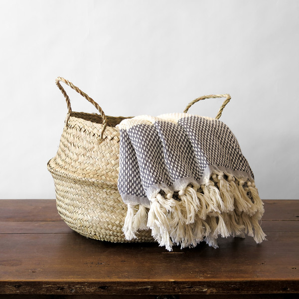 Roost medium convertible seagrass basket
