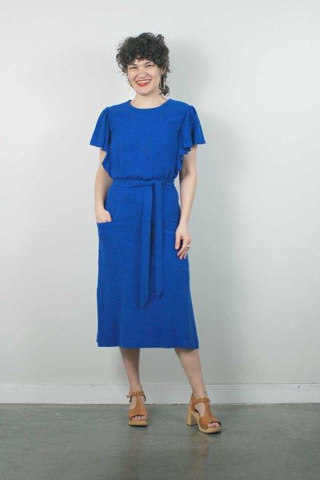 Jennifer Glasgow Klee Dress - Blue