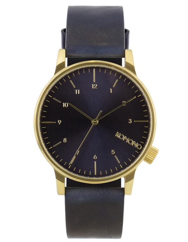 Komono Winston Regal Watch Blue