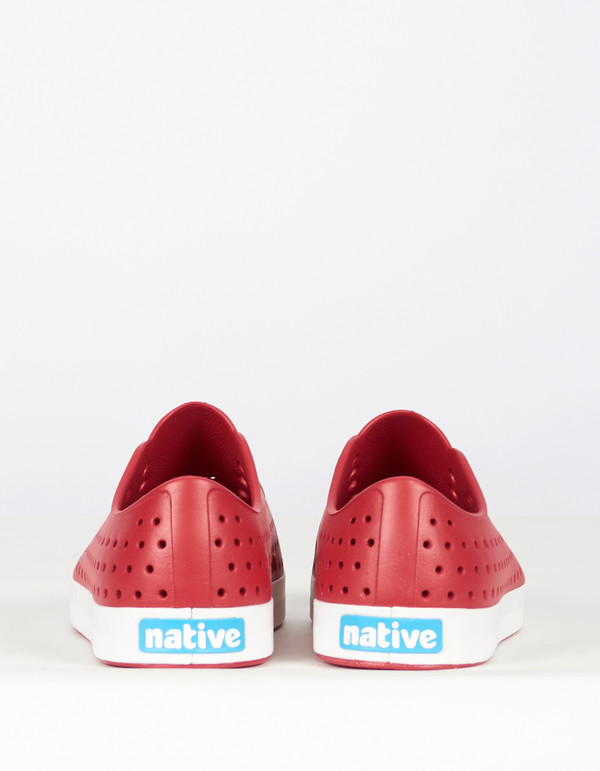 Men's Native Shoes Native Jefferson Rover Red Shell White