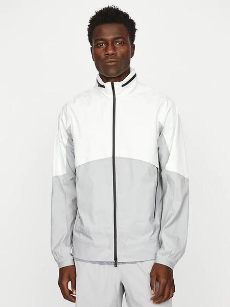 Hill City Active Jacket - White/Grey