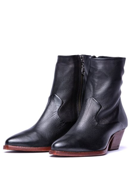 Hudson Carell Ankle Boot - Black