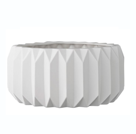 Bloomingville Fluted Flower Pot