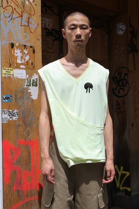 ST-HENRI Neon Uniform Tank Top