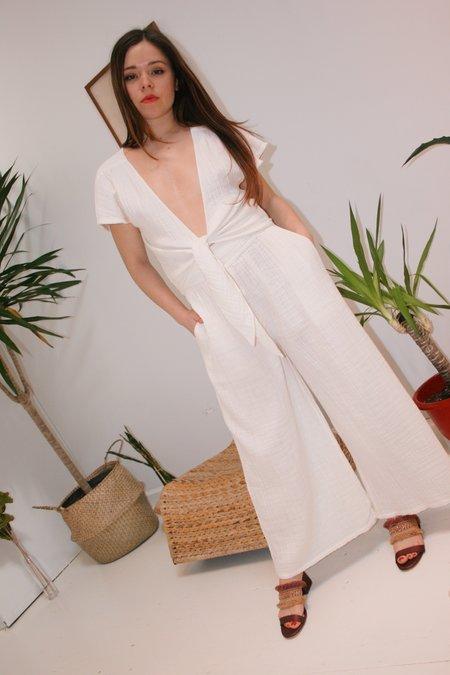 ANAAK Wide Leg Pants - Off White