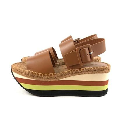 Paloma Barcelo Goldie Sandals - Tan