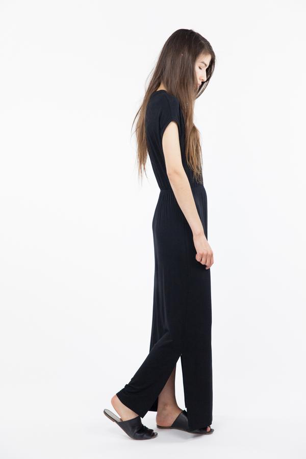 Just Female Sofia Maxi Dress - Black