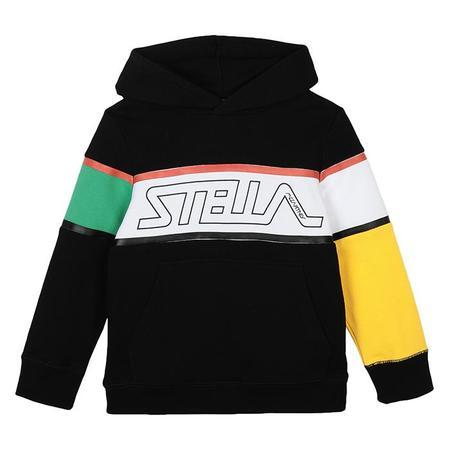 KIDS Stella McCartney Child Colourblock Hooded Sweatshirt - Black