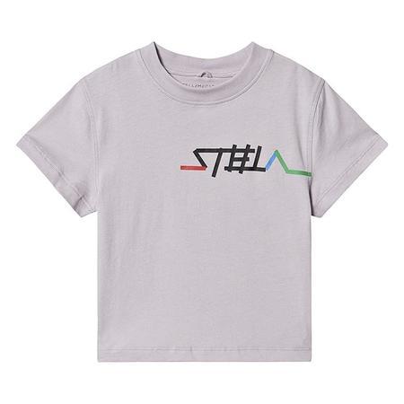 KIDS Stella McCartney Child Logo Print T-shirt - Purple