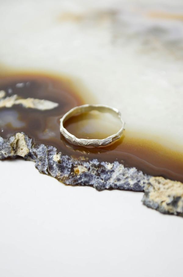 K/ller Silver Thorned Ring